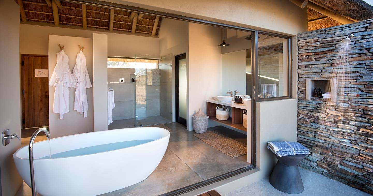 Bathroom at Rockfig Safari Lodge in Timbavati