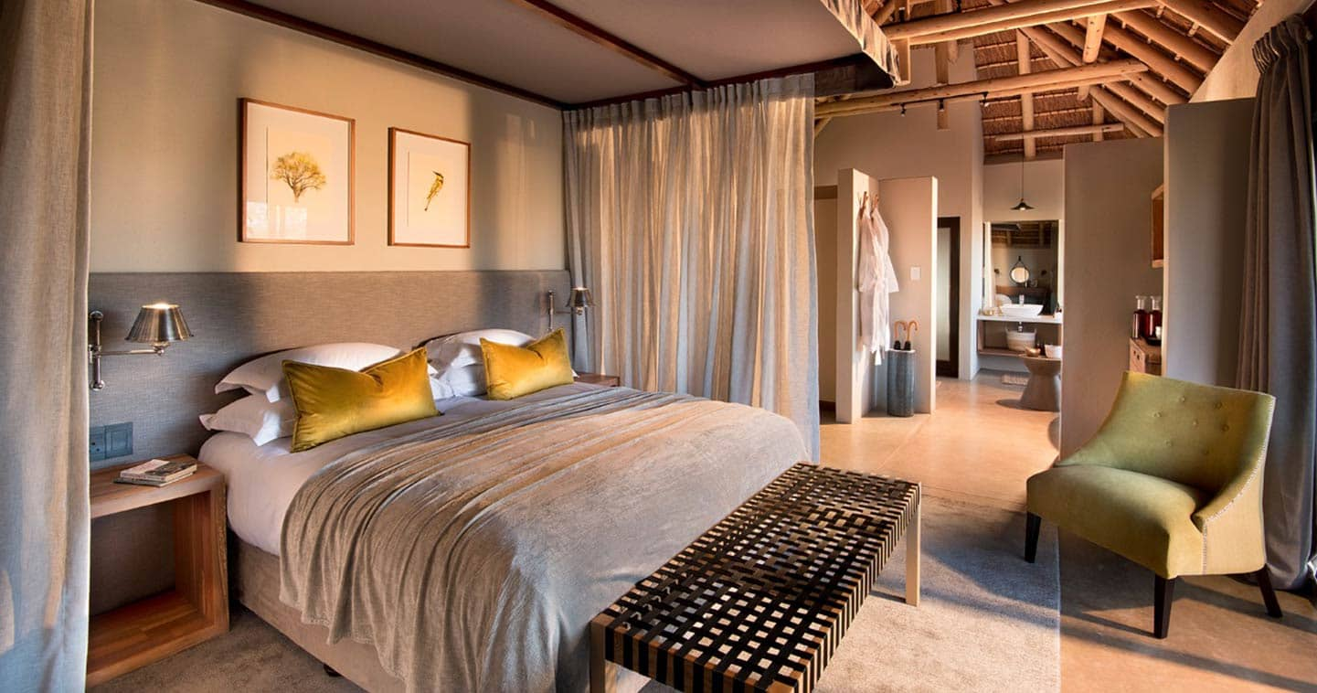 Bedroom at Rockfig Safari Lodge
