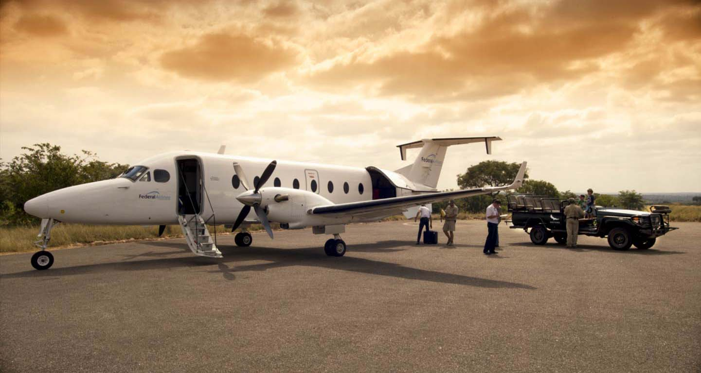 Easy access charter flight to Timbavati Game Reserve