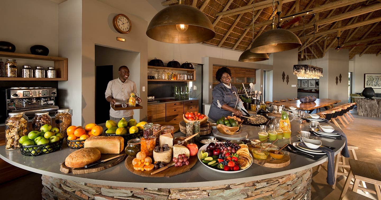 Enjoy an exceptional food experience at Rockfig Lodge in Timbavati