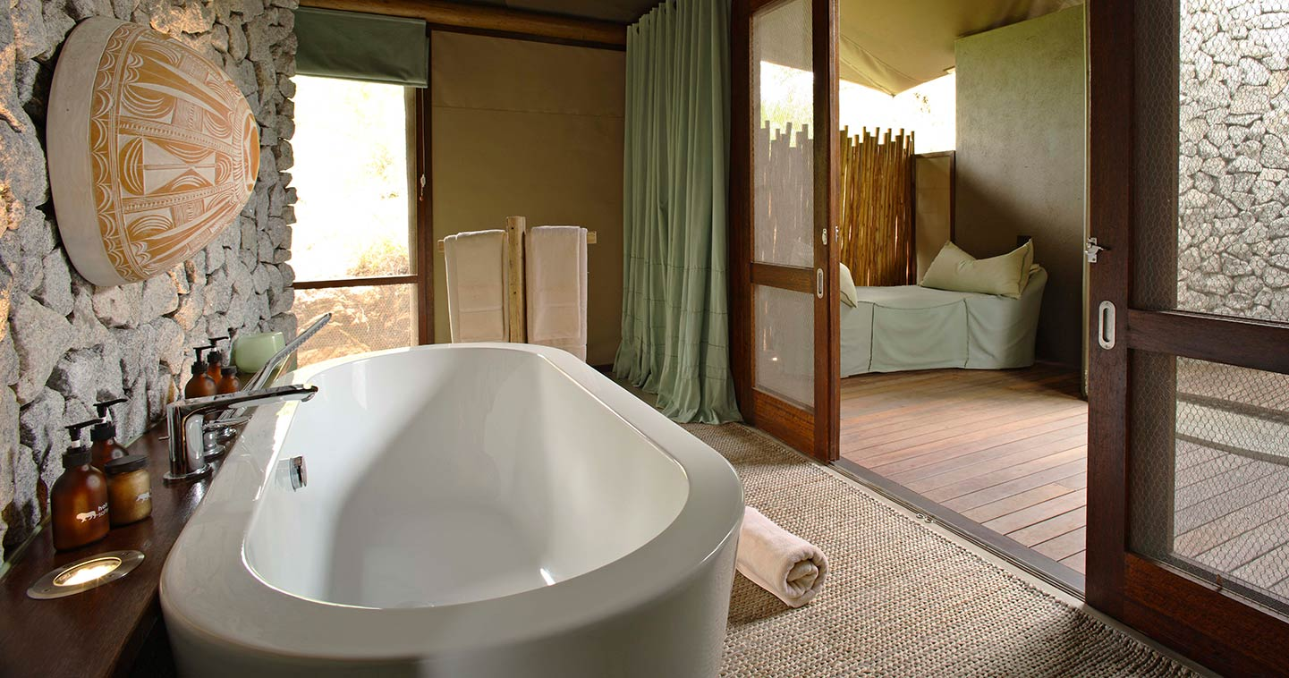 Luxury Ngala Tented Camp near Kruger in South Africa