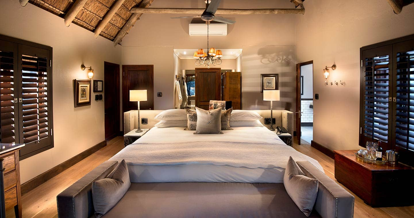 A family cottage in Ngala Safari Lodge in Timbavati Game Reserve