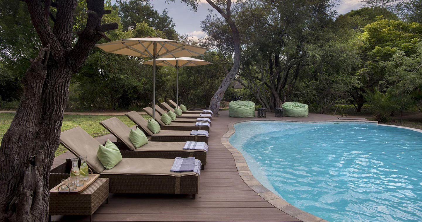 The Pool in Tanda Tula Lodge in Kruger National Park