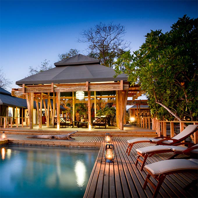 View Simbavati Hilltop Lodge in Timbavati Game Reserve