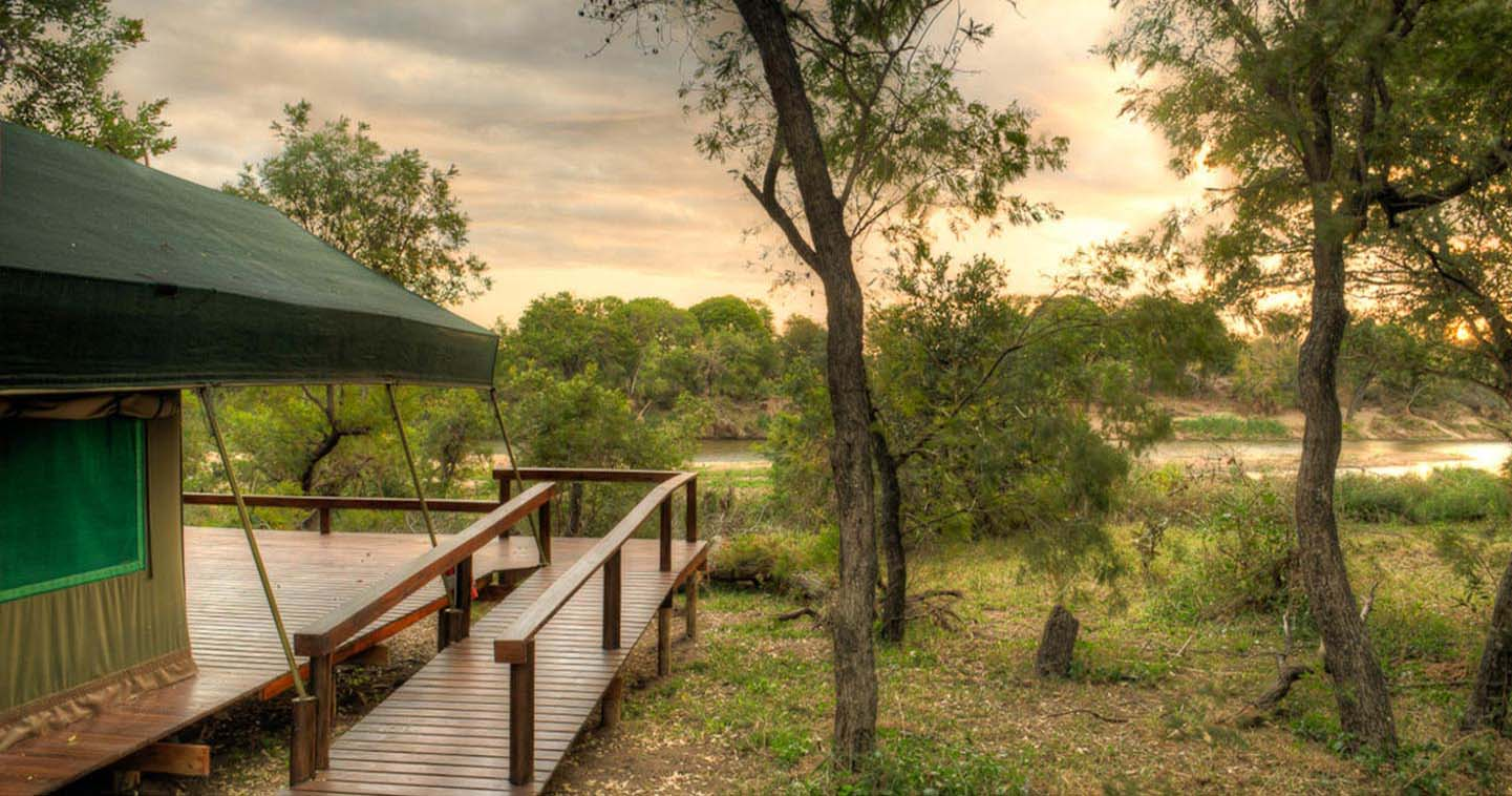 Simbavati River Lodge near Kruger in South Africa